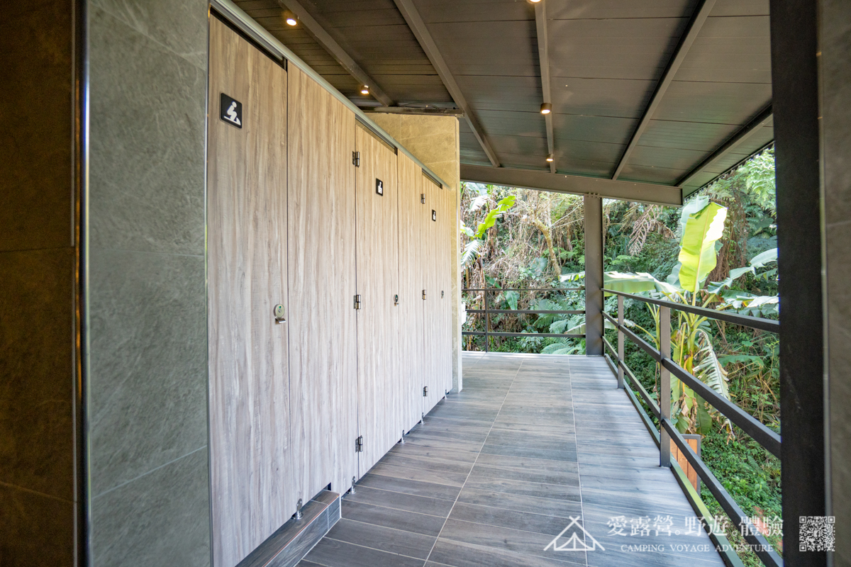 豪華露營 環境介紹 衛浴