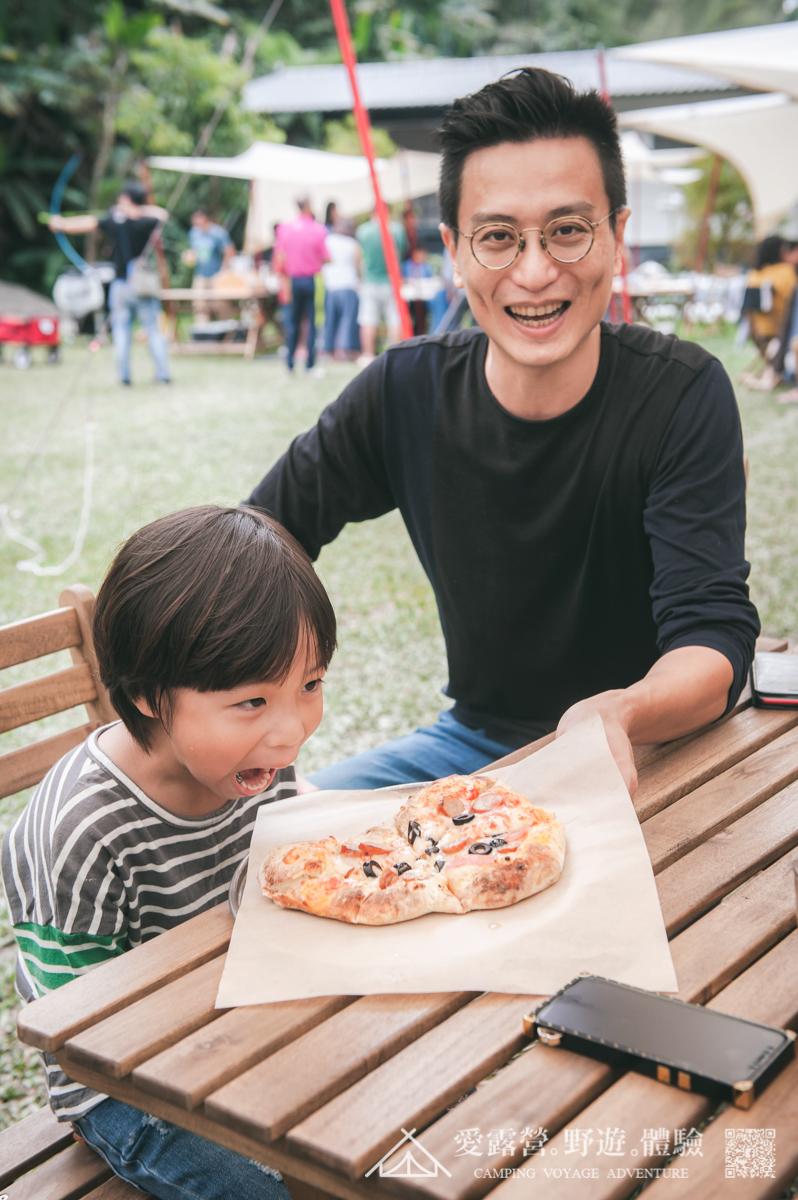 豪華露營 Pizza DIY 親子時光