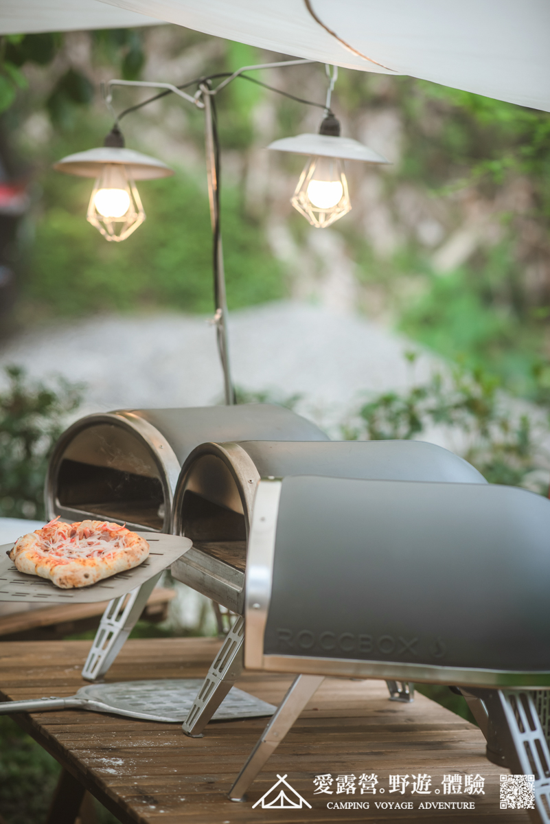 豪華露營 Pizza DIY