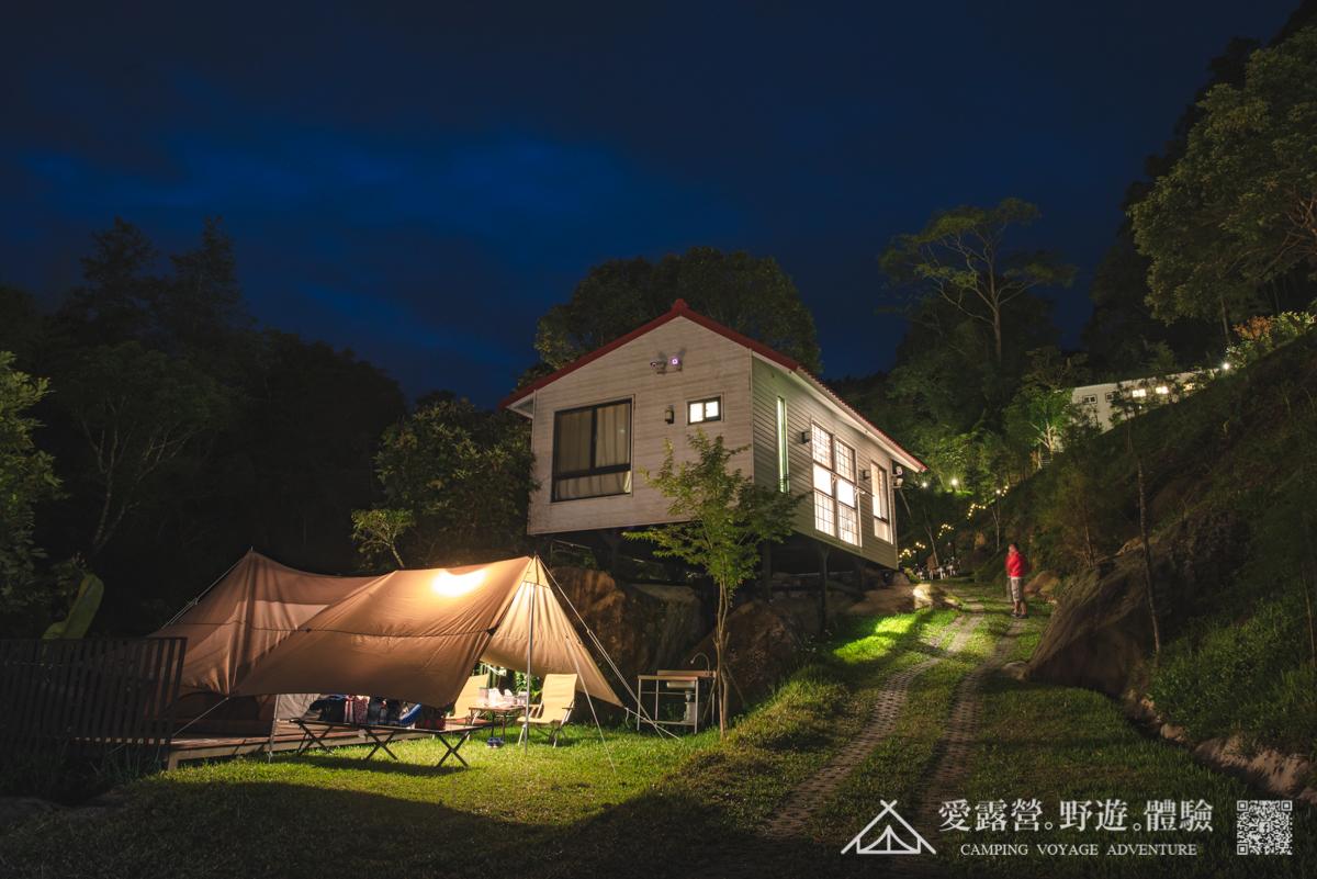 豪華露營 環境介紹 浪漫夜晚