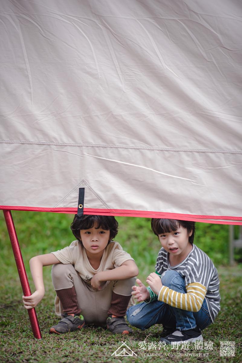 豪華露營 親子時光